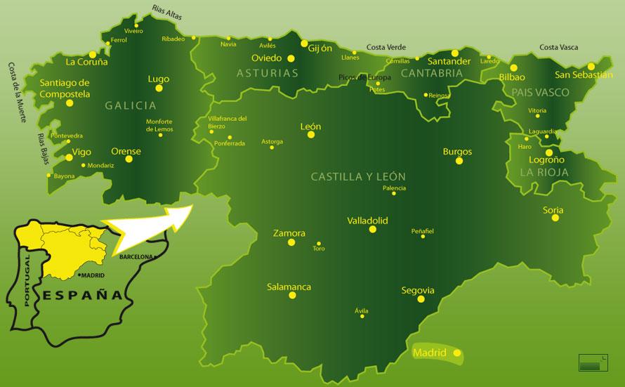 Laes Om Nordspaniens Smukke Regioner Spain Is More